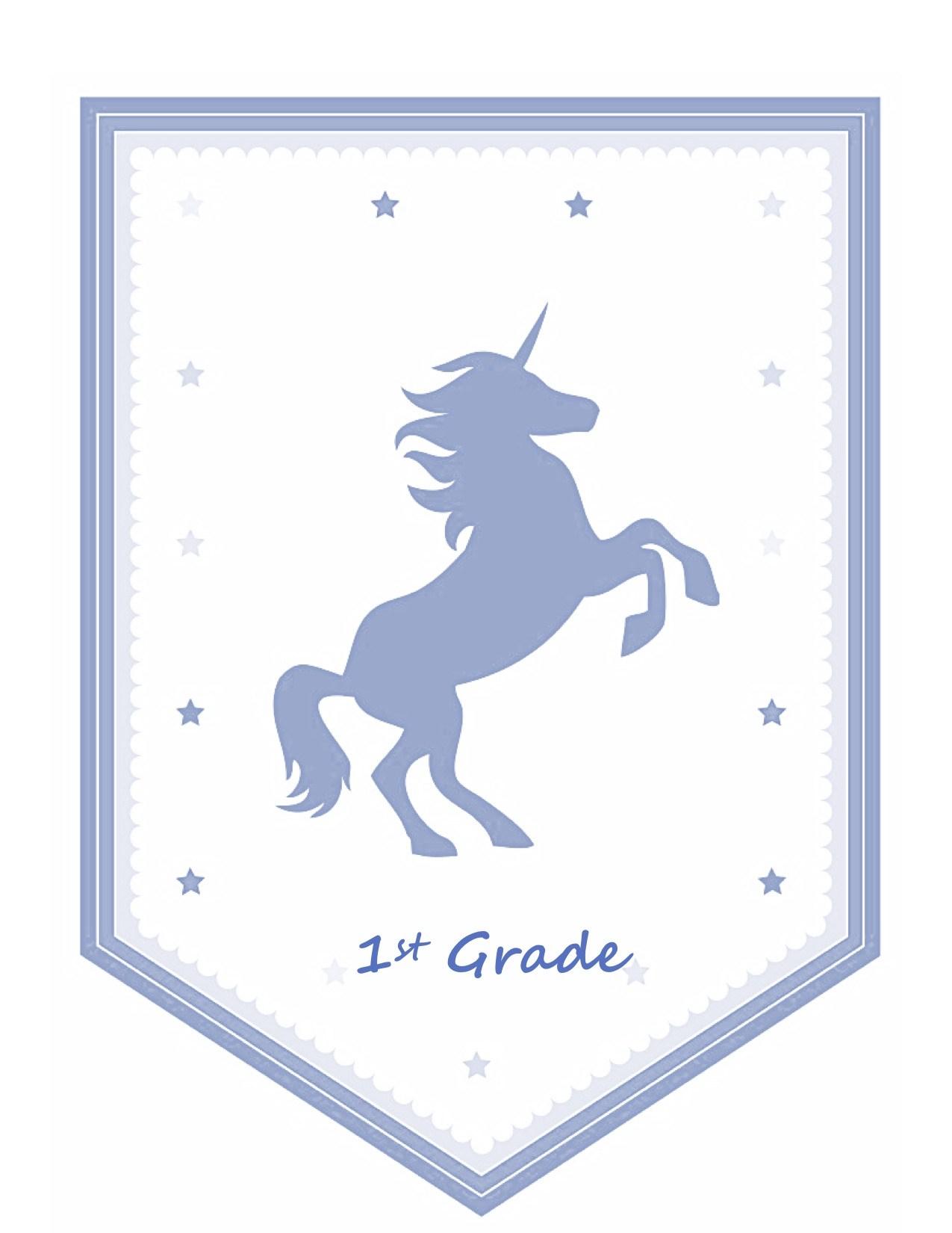 1st Grade Unicorn