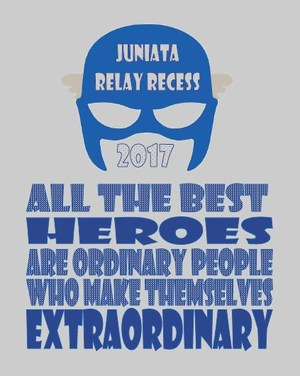 2017 Relay Recess Shirt Design