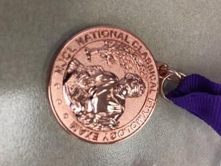 Medal from the National Classical Etymology Exam