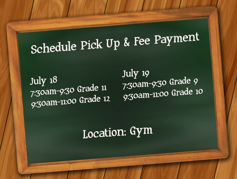 Schedule Pick Up and Fee Payment Thumbnail Image