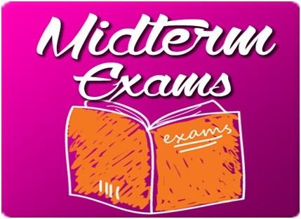 Midterm Exam Schedule Thumbnail Image