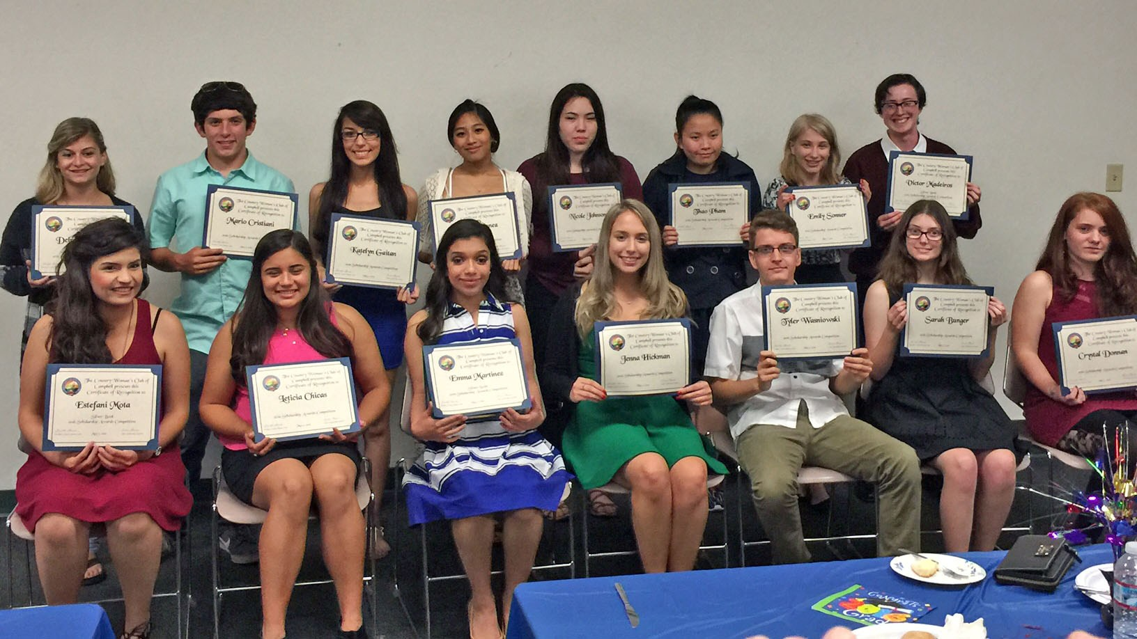CUHSD Students Receive Almost $20,000 in Scholarships from Community Partner