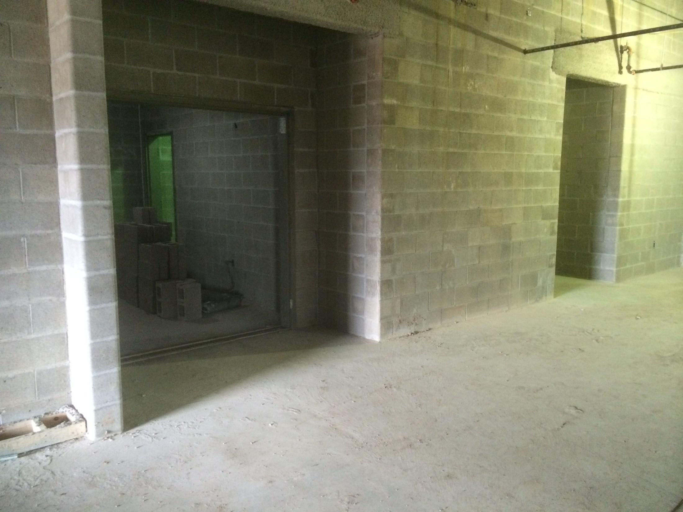 Media Suite Entrance