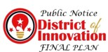 DIstrict of Innovation Final Plan logo