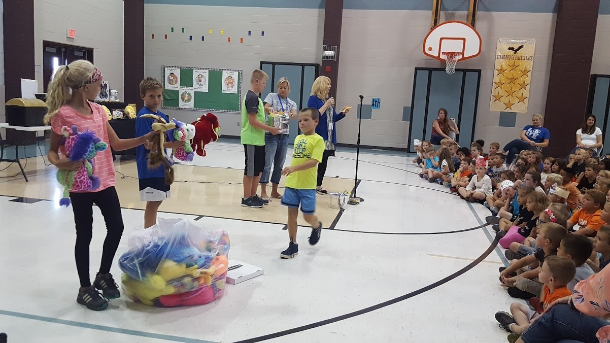 Student Council fund raiser assembly