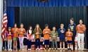 Fifth Grade Math Relay Team Winners