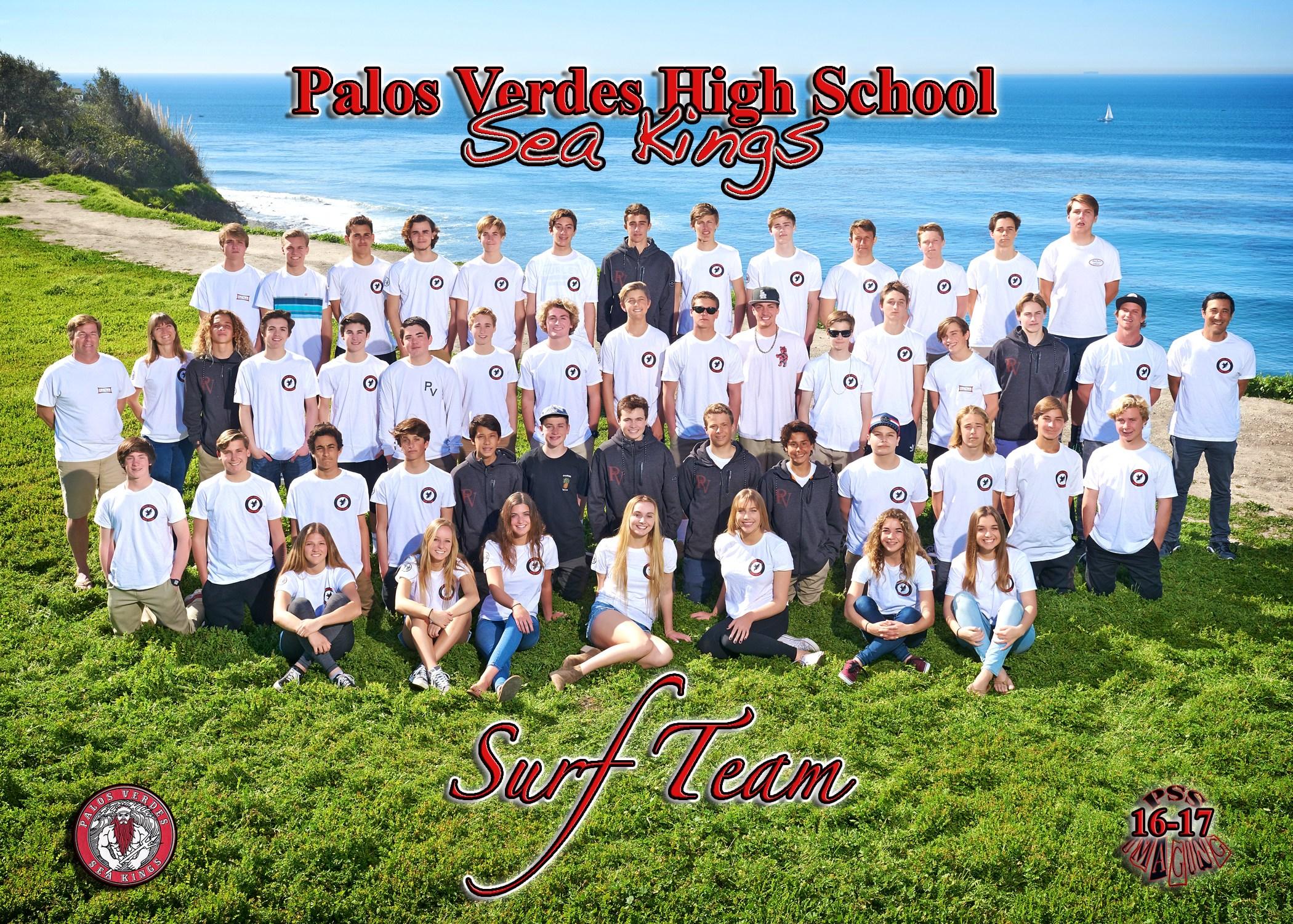 PVHS Surf Team photo