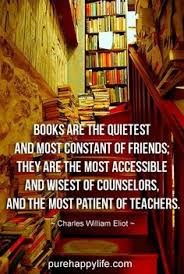 books are the quietest and most constant of friends