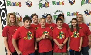 Dartmouth Rubik's Cube Club in Action