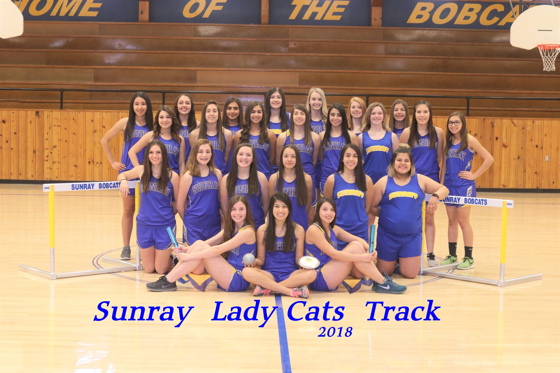 Varsity Girls Track Team
