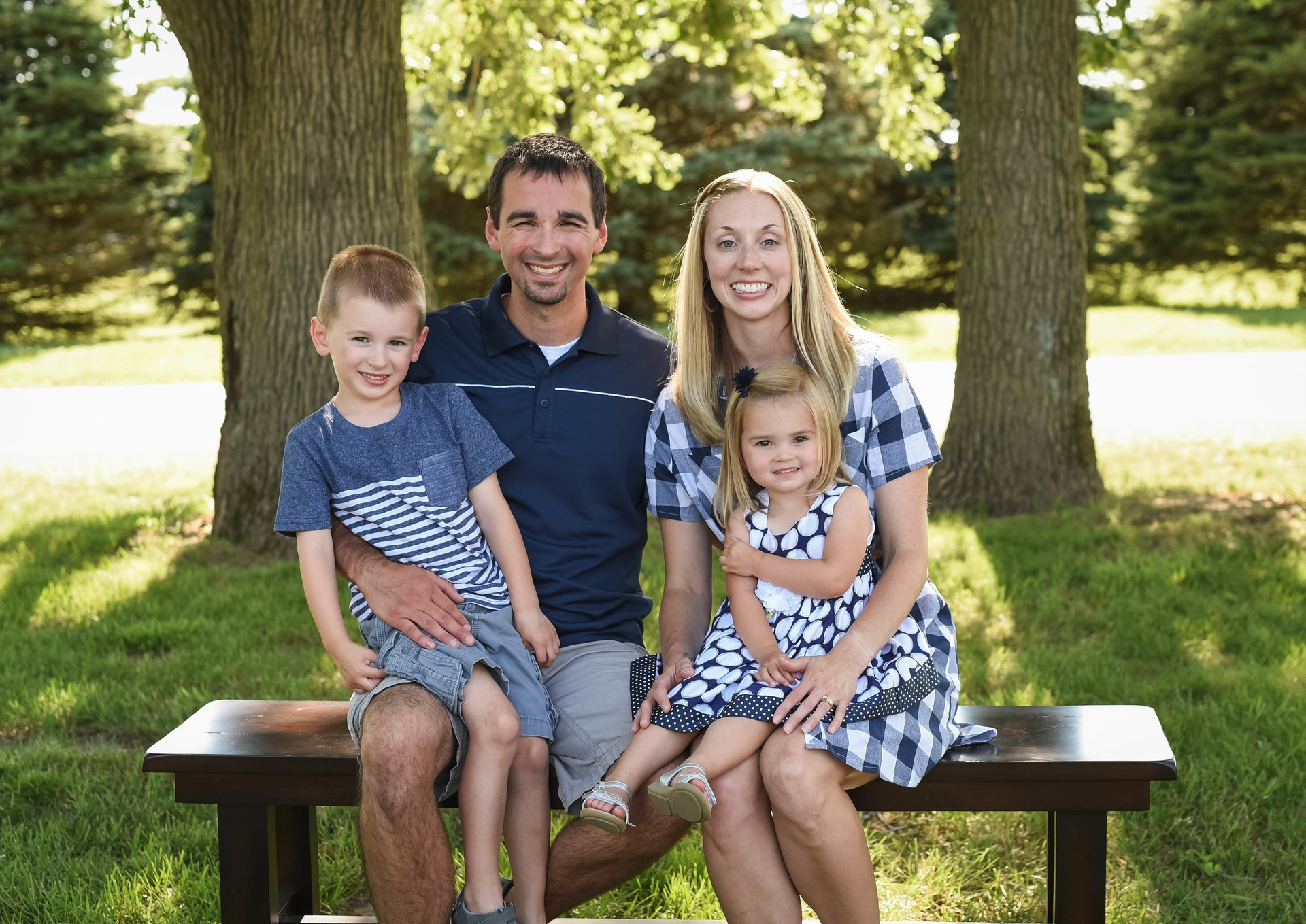 My Family: Cade, Greg, Me and Lena