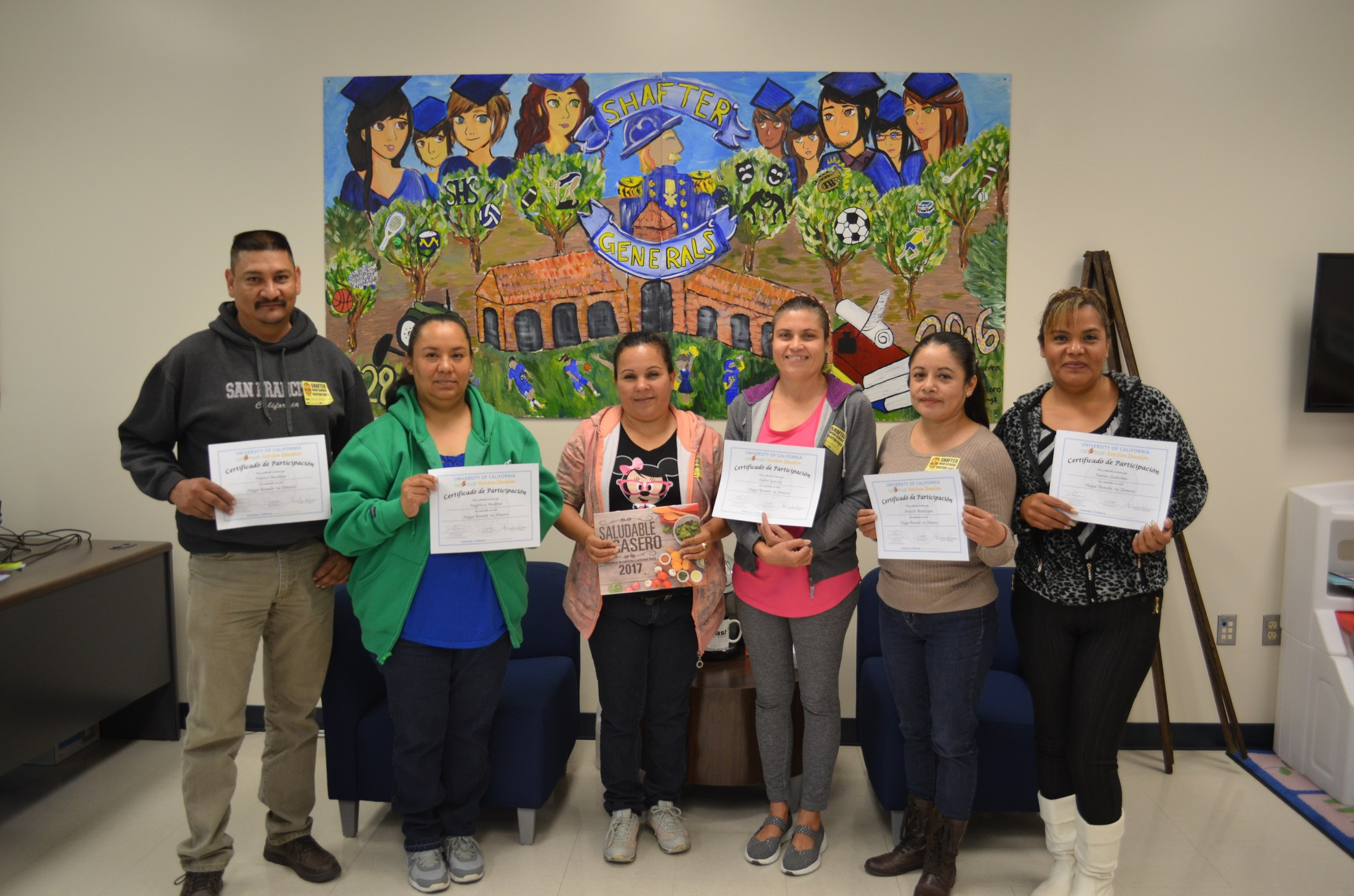 Shafter Center graduates