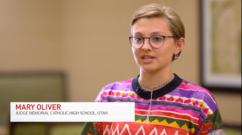 Judge Alumna Featured in PBS NewsHour's Student Reporting Lab Project Featured Photo