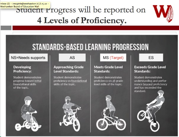 4 Levels of Proficiency