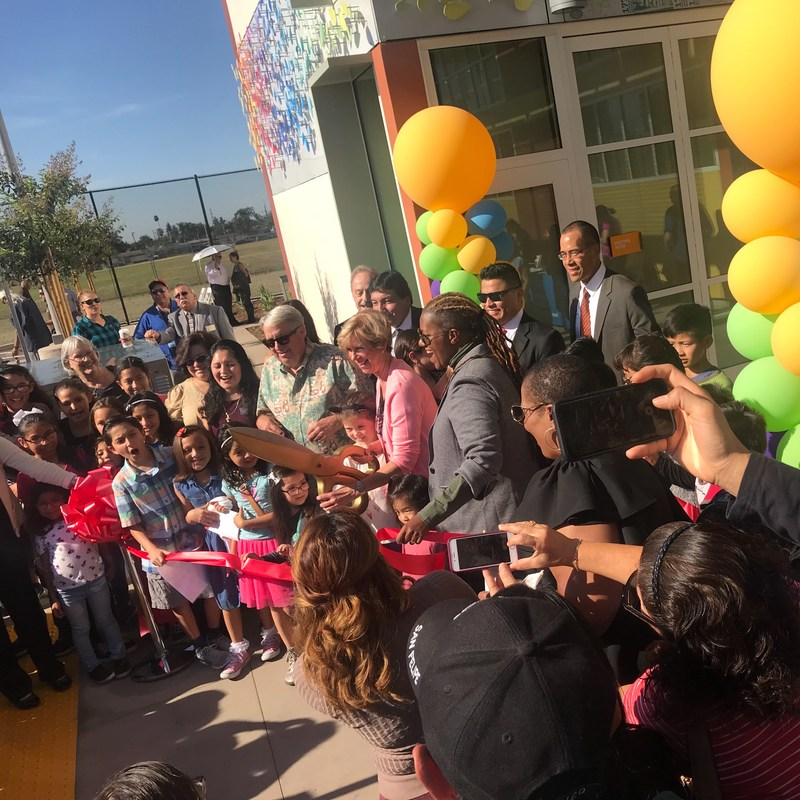 Grand Opening of the Los Nietos Library Takes Place on November 18, 2017 Featured Photo