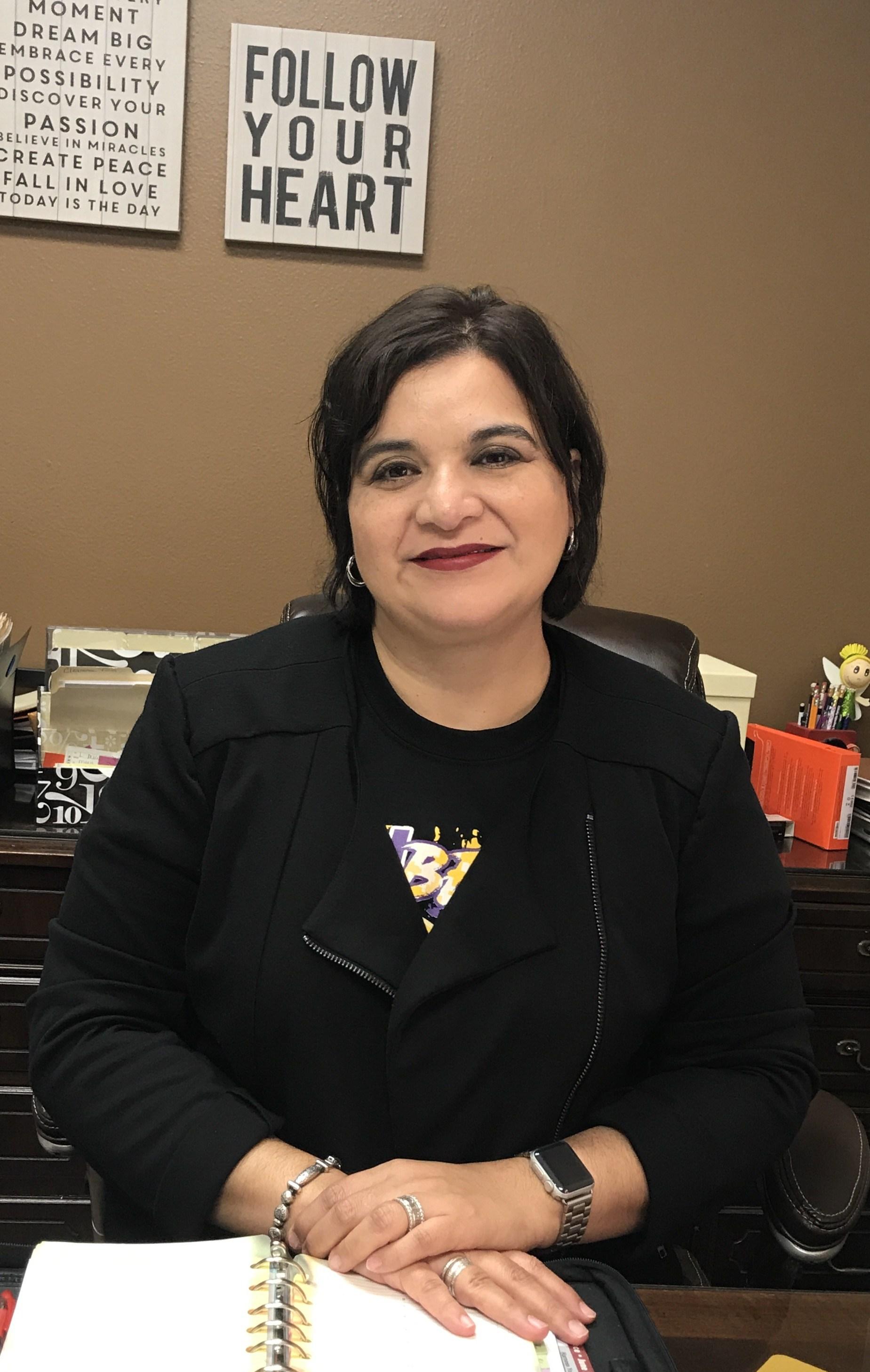 Mrs. Linda Molina, Frank Roberts Principal