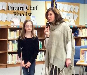 principal congratulating future chef winner