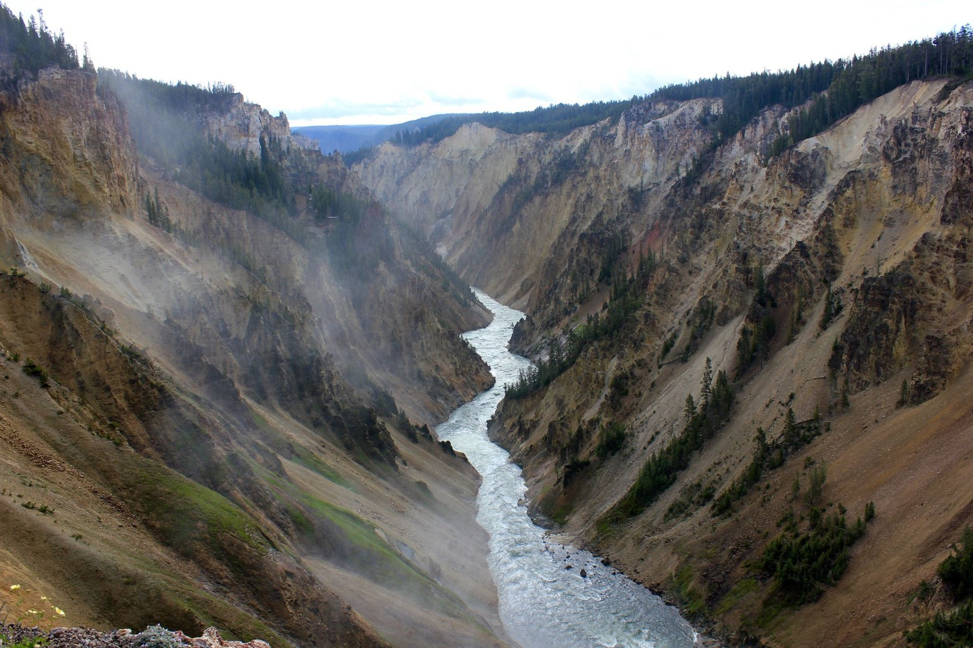 Grand Canyon of the Yellowstone—Yellowstone National Park, Wyoming