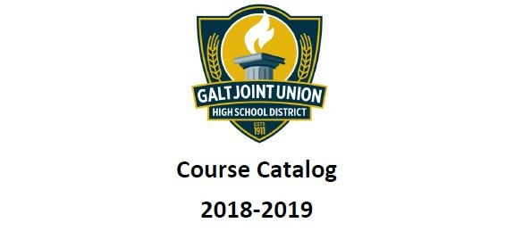 GJUHSD Course Catalog 2018-2019 Thumbnail Image