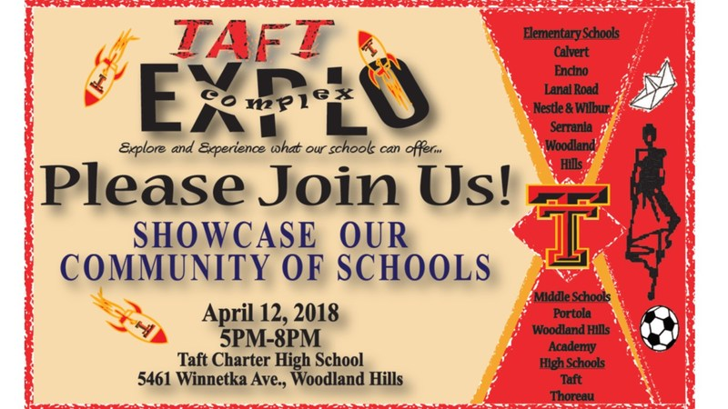 Mark your calendars! Taft Explo Night is coming up! Thumbnail Image