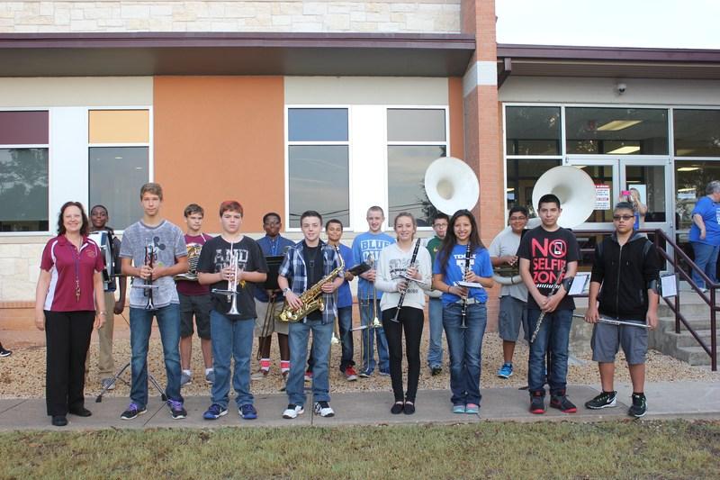 Lamar Middle School Band