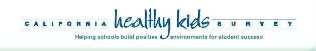 CA healthy kids survey logo