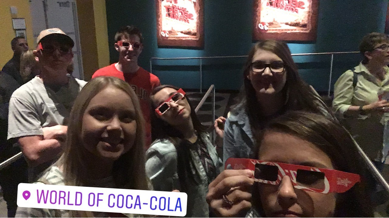beta members at world of coke