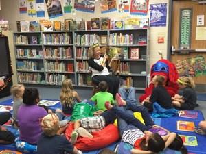 CES Students Book Fair