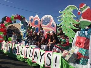 Dartmouth at the Hemet Christmas Parade