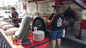 The Fire Truck Pizza Company and Invictus High School