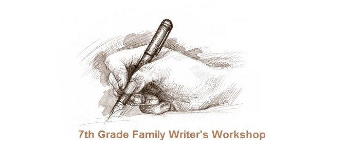 7th grade writing workshop logo
