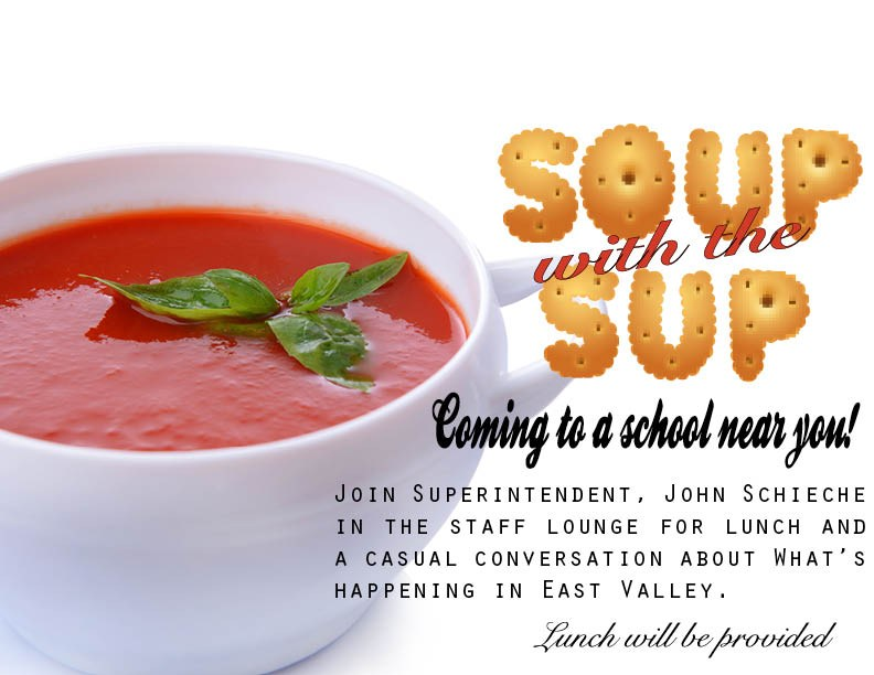 Soup with the Sup announcement