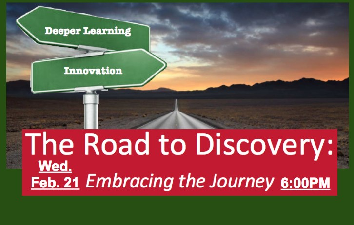 The Road to Discovery GTMS Expo Feb. 21 at 6:00PM
