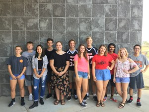 TKHS names the homecoming court.