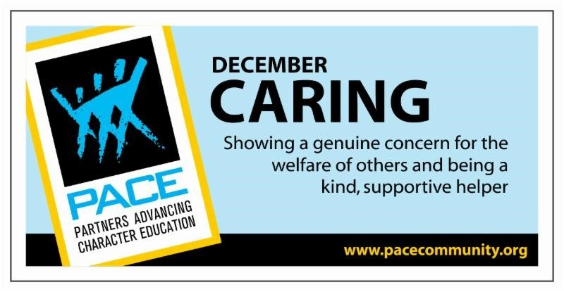 PACE Character Trait for December - Caring Thumbnail Image