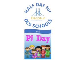 Half day AND PJ Day announcement