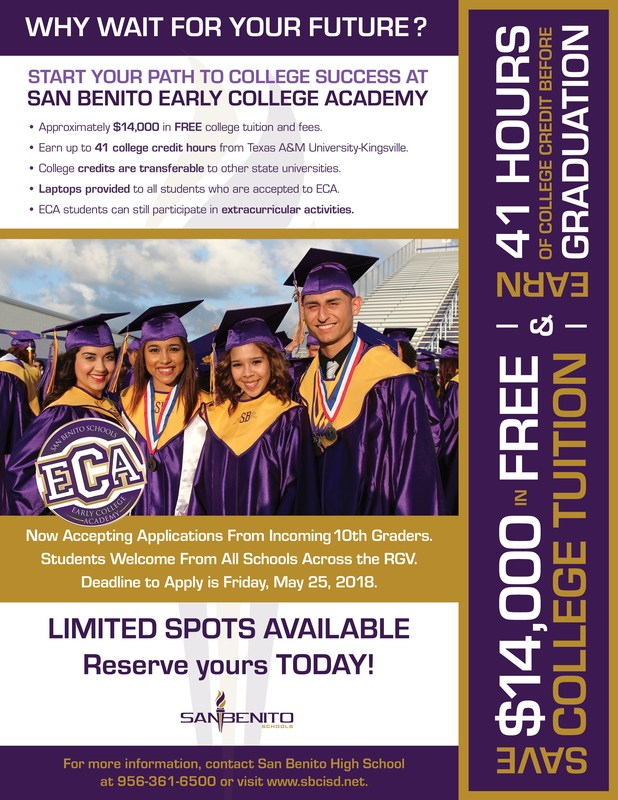 Early College Academy Flyer