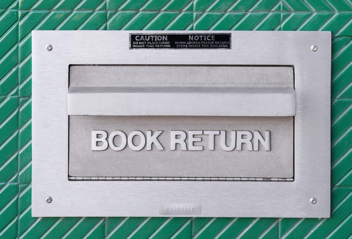 A book drop