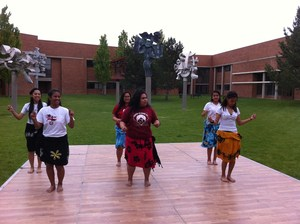 ELL Dancers from Marshall Islands