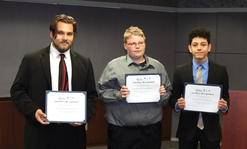 Harvey Students Participate In ECITY Business Competition At Lubrizol Thumbnail Image