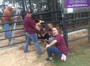 MW students painting the fence at JoyRide.JPG