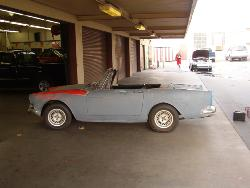 1965 Sunbeam Tiger vehicle before makeover