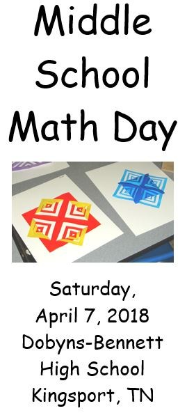 Middle School Math Day