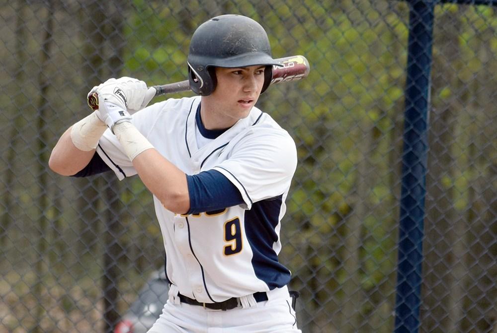 boy baseball player with bat