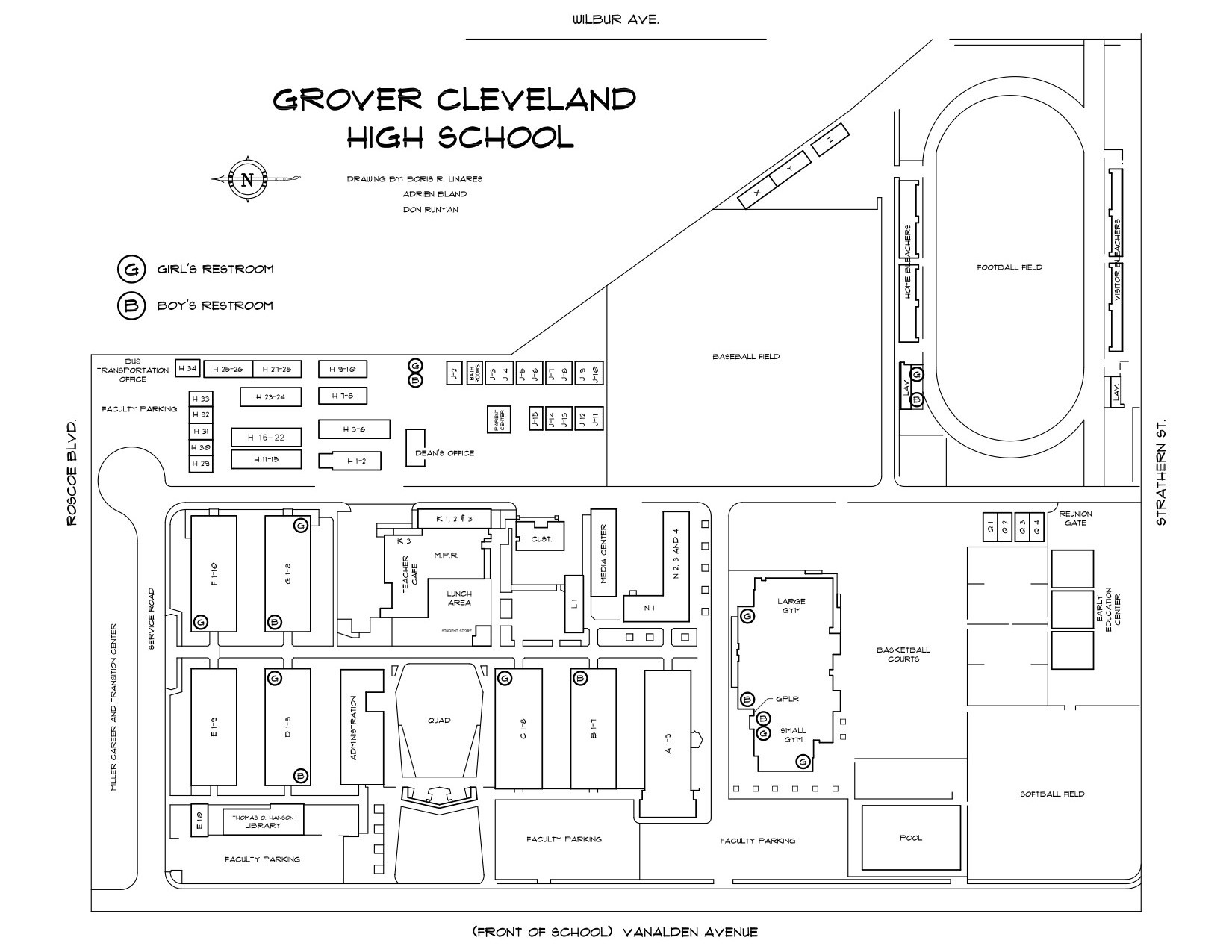 School Map About Chs Cleveland Charter High School