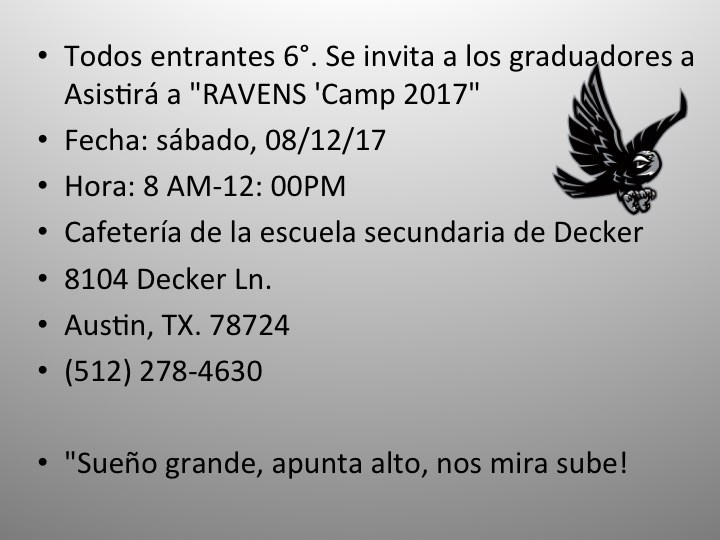 Ravens' Camp 2017 Thumbnail Image