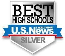 U.S. News Best High Schools Ranking Silver logo