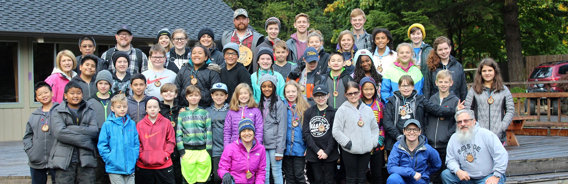 Sixth Grade Outdoor School at Camp Yamhill