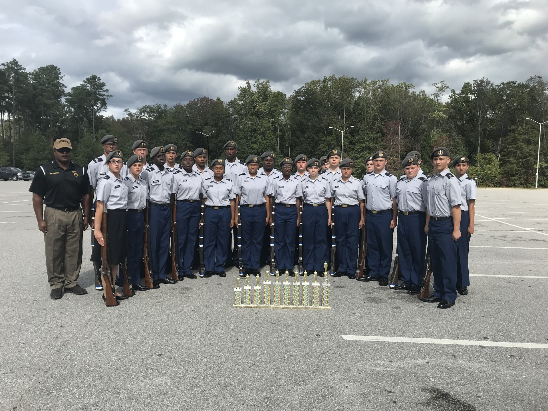 Picture of ROTC team