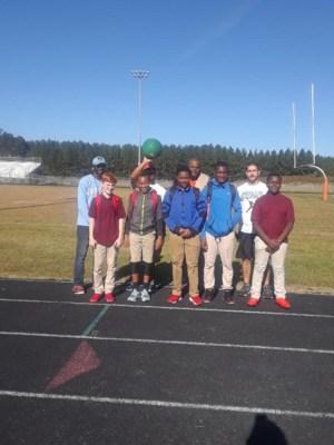 Kickball tournament participants